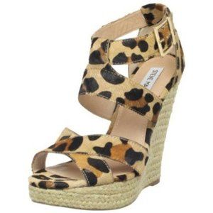 Steve Madden Kloudd Pony Hair Wedges
